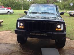 jeep cherokee lights whatcha ll think 24 inch light bar install jeep cherokee forum