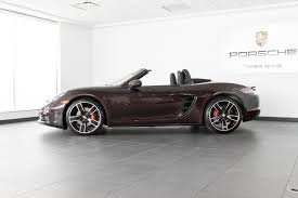 porsche boxster 2017 2017 porsche boxster 718 s for sale in colorado springs co 17288
