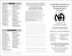 meeting lists u2013 central mass n a