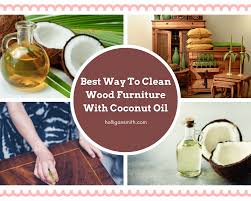what is the best way to clean wooden cabinets best way to clean wood furniture with coconut