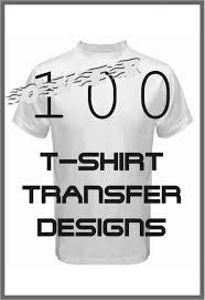 100 t shirt transfer designs illustration
