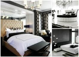 chambre moderne noir et blanc déco noir et blanc chambre à coucher 30 exemples élégants