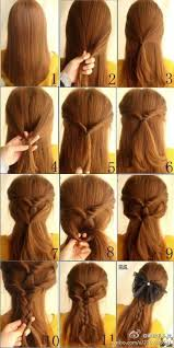 by step korean hair style easy hairstyles for long hair braids ideas
