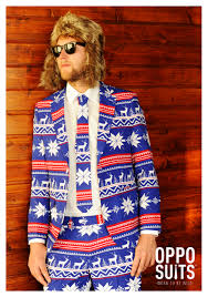 men u0027s opposuits ugly christmas sweater suit