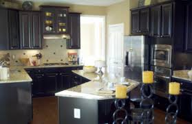 Green Stain Colored Kitchen Cabinets  Kitchen Cabinet Stain - Black stained kitchen cabinets