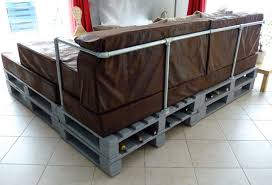 canap industriel canape lit en palette maison design sibfa com