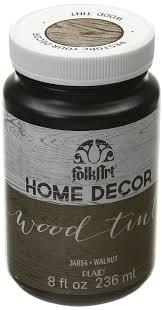 sl home decor amazon com folkart home decor wood tint 8 ounce 34854 walnut