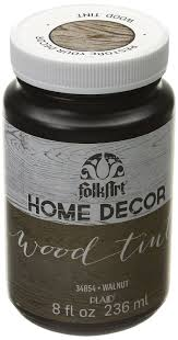 folk art home decor chalk paint amazon com folkart home decor wood tint 8 ounce 34854 walnut