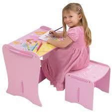 premier bureau enfant disney princess mon premier bureau en bois enfant et tabouret