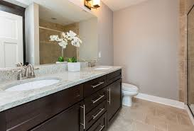 modern 3 4 bathroom with flat panel cabinets by patrick fox