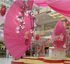 Valentine Decorations Ideas On Pinterest by Stage Decor For Spring Theme Jaya Has A Revolving Lantern