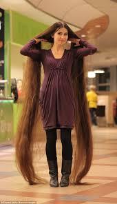 rapunzel fan aliia nasyrova hair 90 inches long daily mail