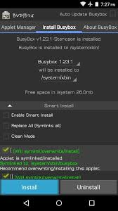 busybox android android basics how to install busybox commands android