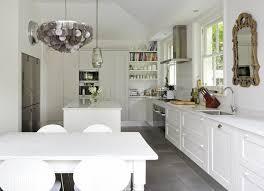 Gray Tile Kitchen - gray farmhouse kitchens design ideas