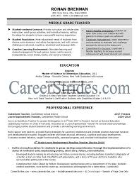 Resume Templates For Teachers Free Teachers Resume Example Examples Of Teaching Resumes Art Teacher