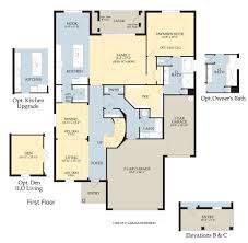 Florida Home Floor Plans Pulte Homes Stratford Floor Plan Home Plan