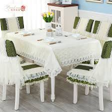 modern rural bud silk fabric cloth fashion lace tea table cloth