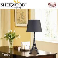 Studio Desk Lamp Paris Eiffel Tower Sherwood Lighting Fashion Design Studio Desk