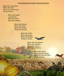 happy thanksgiving blessings poem eileen spinelli writing and