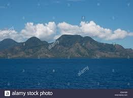 Guadalcanal Map Melanesia Solomon Islands Guadalcanal Island Coastal View Of