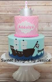 princess and pirate cake my cakes pinterest birthdays