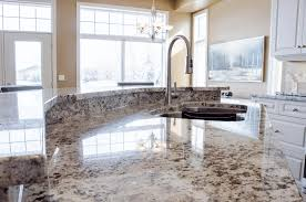 Classic Black And White Kitchen Black And White Granite Countertop White Kitchen Cabinet With