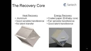 Enthalpy Recovery Ventilator Fantech Understanding Hrv And Erv Part 1 Youtube