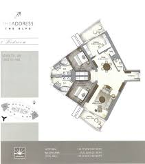 floor plans by address emaar the address residences the blvd boulevard dubai dubai