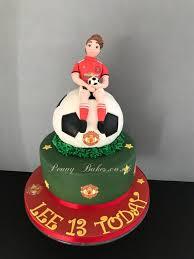 football cakes manchester united football cake 57 cakes cakesdecor
