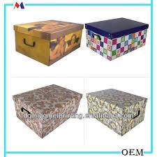 oem printing house decorative lids cardboard storage box buy oem