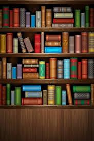 Bookshelf Background Image Iphone Bookshelf Wallpaper Wallpapersafari