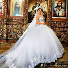 ball gown wedding dresses with sleeves and bling popular wedding