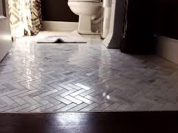 Marble Bathroom Tile by Marble Tile Herringbone Pattern Bathroom Home Pinterest