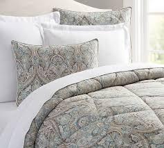 Paisley Comforters Mackenna Comforter U0026 Sham Pottery Barn
