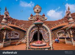 Decoration Of Durga Puja Pandal Kolkata India October 22 2015 Beautifully Stock Photo 334940528