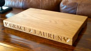 personalised cutting boards our boards makemesomethingspecial
