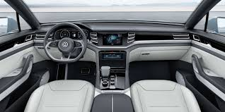 Future Vw Touareg Vw Cross Coupé Gte Signals High Performance Hybrid Future