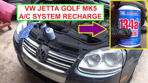 red volkswagen jetta 2009 how to recharge the air conditioner on vw jetta mk5 vw golf mk5