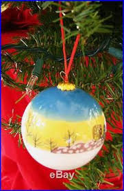 hand painted pattern decorative balls decorating christmas glass
