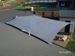 Sail Cloth Awning Outdoor And Bbq Area Awning Shade Sail Covering And Uv Protection