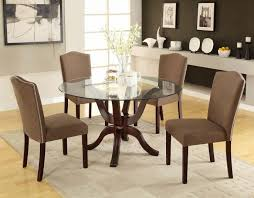 Glass Dining Sets 4 Chairs Rectangular Square Glass Dining Table Glass Living Room Table
