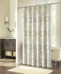 organic shower shower curtains rods tall
