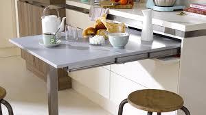 cuisine incorporé meuble de cuisine avec table integree pour manger ch