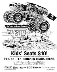 10 images of monster jam coloring pages free monster jam