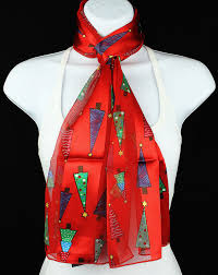 new christmas trees womens scarf holiday tree star gift scarfs