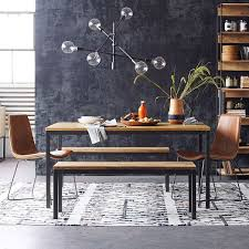 Black Wood Dining Table Box Frame Dining Table Wood West Elm