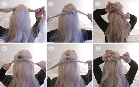 hair tutorial hair tutorial two simple knot half up dos grace and braver uk