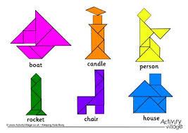tangram puzzle solutions 1