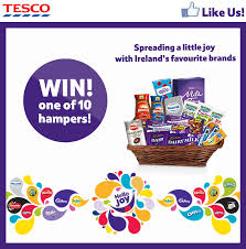 Win 1 of 10 hampers from Tesco Ireland  Competitionsie