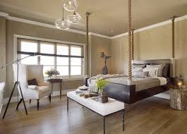 bedroom rustic modern bedroom wiith pallet hanging bed and